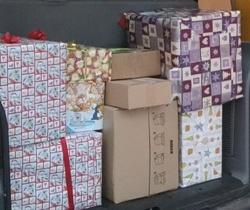 Weihnachts-paketaktion