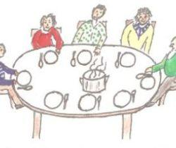 Essen in Gesellschaft